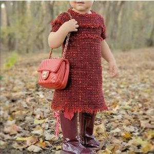 Zara Girl Tweed Dress